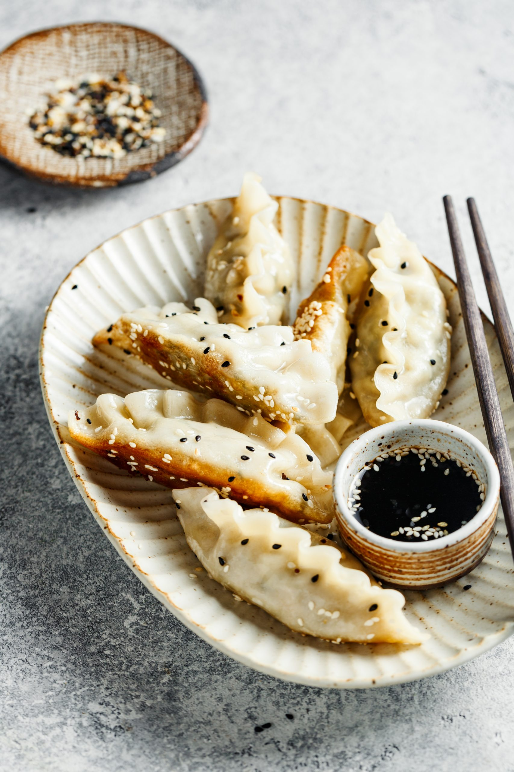 chinese dumpling soy sauce